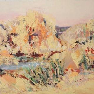 077_Jenny _Scholes_Outback Waterhole_Mixed_1500