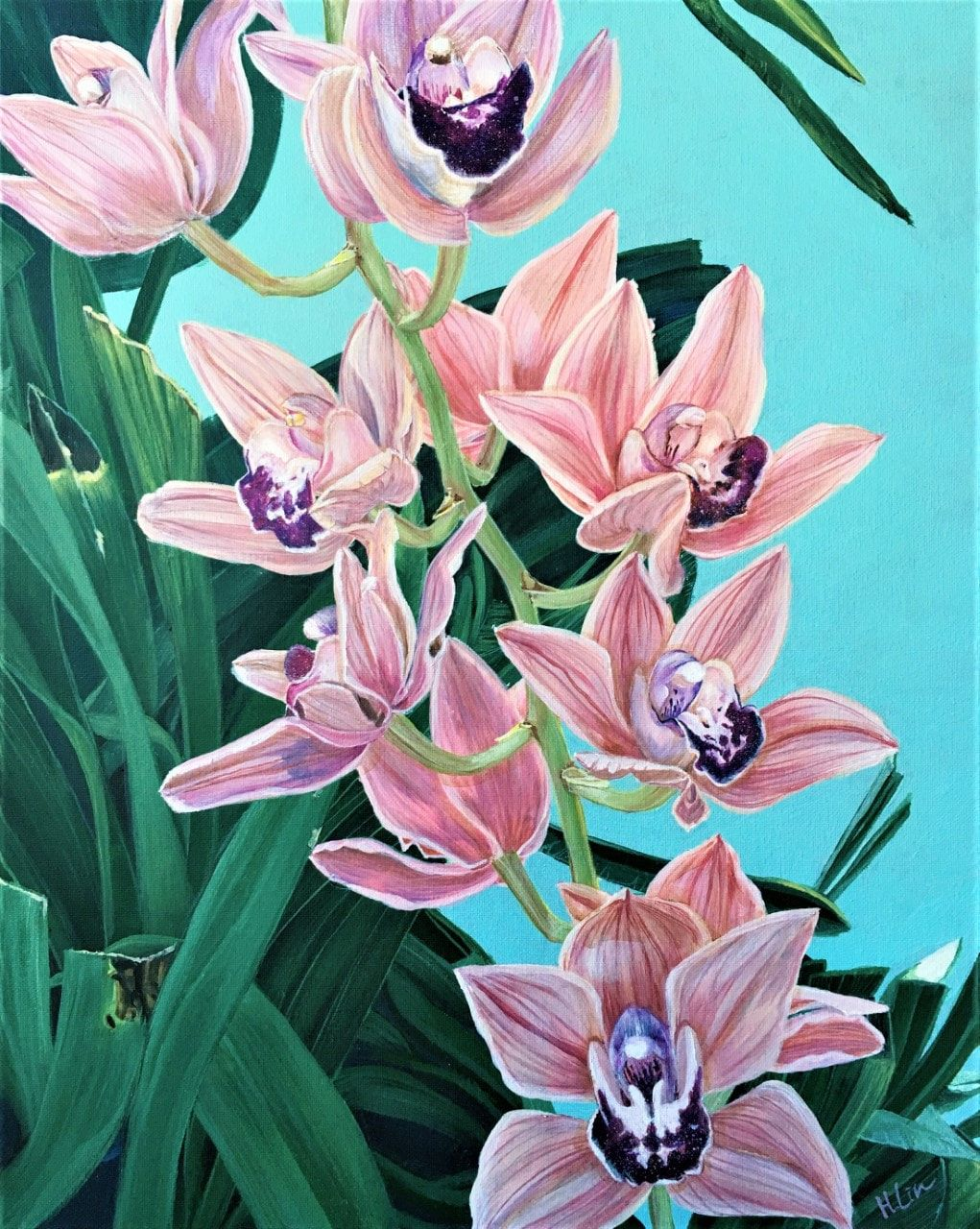 HSIN LIN_Forever Together_ Cymbidium Orchids